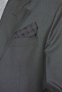 black-textured-pocket-square