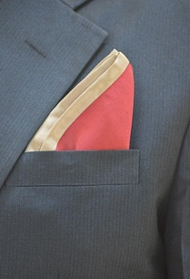 red-pocket-square-with-beige-border