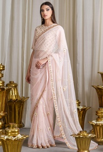 pale-pink-embroidered-sari-with-blouse