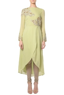 light-green-floral-embroidered-kurta-with-churidar