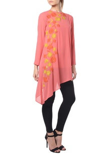 pink-floral-embroidered-tunic