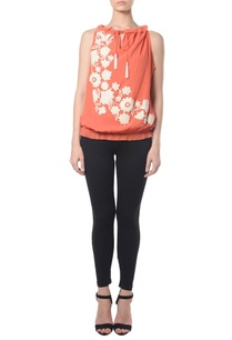 orange-floral-embroidered-top