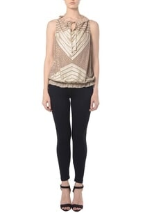 beige-sequin-embellished-nautical-top