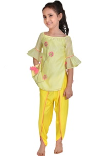 lime-yellow-mango-yellow-chanderi-floral-embroidery-suit