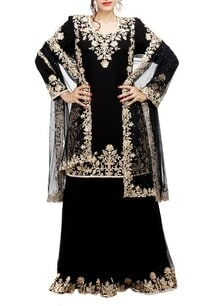 black-pearl-embroidered-sharara-set