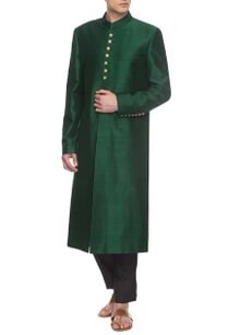 emerald-green-sherwani-set