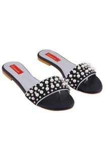 black-pearl-embellished-flat-sandals