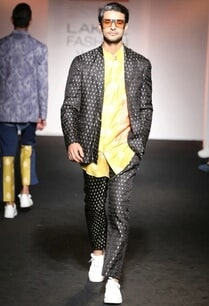 black-banarasi-dotted-suit-jacket