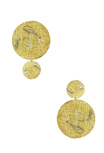gold-silver-mismatch-abstract-drop-earrings