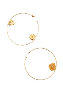 gold-plated-oversized-hoop