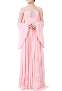 pastel-pink-hand-crafted-bugle-bead-embroidered-gown