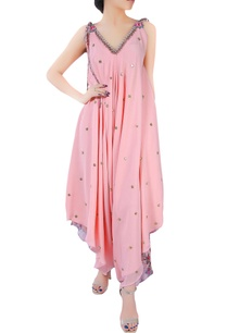 pink-crepe-silk-dhoti-style-jumpsuit