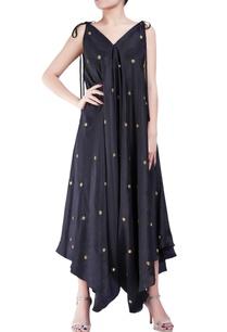 black-crepe-silk-dhoti-style-bugle-bead-jumpsuit
