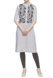 grey-bead-embroidered-kurta