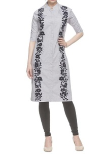 grey-threadwork-embroidered-kurta