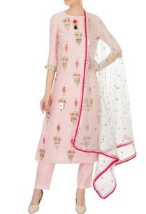 pink-sequin-pearl-embellished-kurta-set