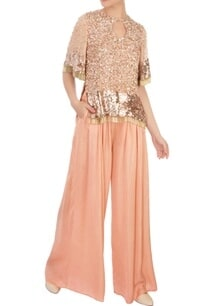 peach-sequin-embroidered-top-with-palazzos