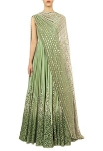 mint-ombre-anarkali-with-mirror-embroidered-dupatta