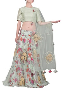 pale-green-floral-printed-lehenga-set