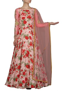 pale-pink-and-red-rose-printed-anarkali-set