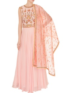 pink-georgette-embroidered-yoke-anarkali-with-dupatta