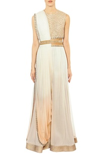 off-white-embroidered-jumpsuit-with-attached-dupatta