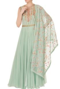 blue-resham-embroidered-yoke-kurta-with-palazzos-dupatta