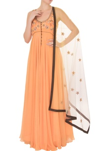 orange-georgette-embroidered-anarkali-set