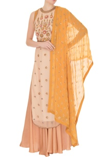 beige-georgette-tunic-with-palazzos-dupatta