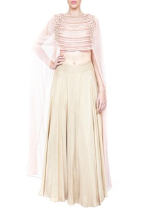 pale-pink-embroidered-lehenga-with-cape-blouse