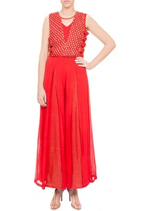 red-embroidered-jumpsuit-with-cape