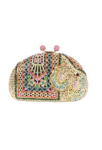multi-colored-elephant-rhinestone-clutch