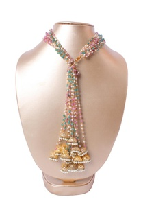 gold-pearl-beaded-necklace-with-jhumkas