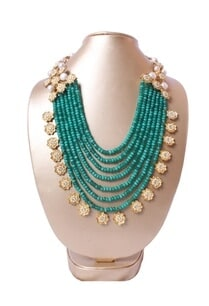 green-beaded-necklace-with-dimante-florals