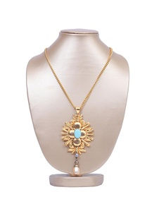 gold-plated-turquoise-stone-necklace