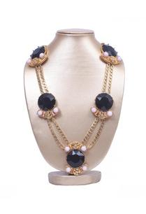 black-stone-statement-necklace