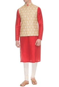 ivory-gold-motif-embroidered-nehru-jacket