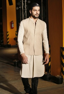 cream-silk-kurta-pants-bandi-jacket