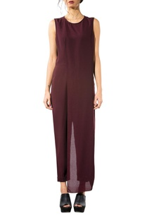 wine-layered-jumpsuit
