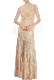 light-gold-embellished-gown