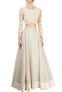 ivory-printed-lehenga-embroidered-blouse