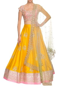 mango-yellow-rose-pink-floral-embroidered-lehenga-set
