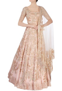 peach-embellished-lehenga-set