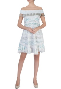 light-blue-embroidered-short-dress