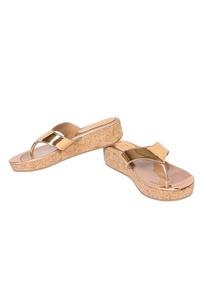 metallic-gold-leather-low-wedge-heels