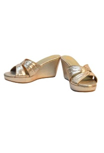 metallic-gold-shimmer-medium-heel-wedges