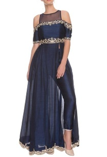 midnight-blue-embellished-anarkali-with-pants
