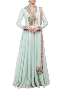 mint-green-embellished-anarkali-set