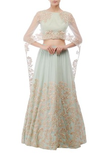 mint-green-flower-embroidered-lehenga
