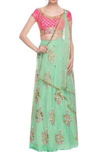 mint-green-pink-floral-embroidered-lehenga-set